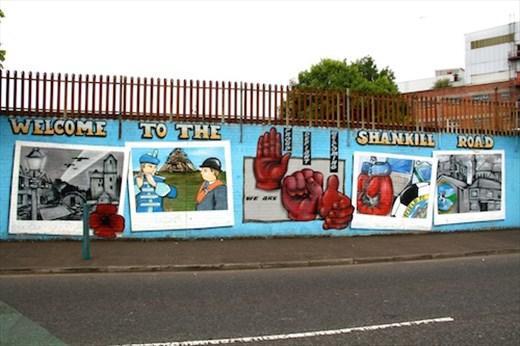 Shankill Road Murals