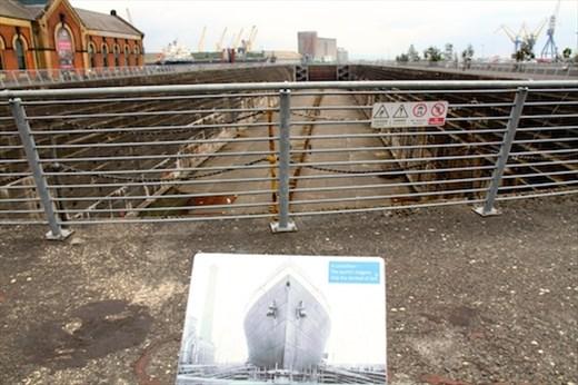 Thompson dry dock, Titanic Dock and Pump House, Belfast