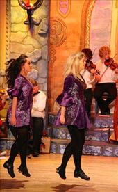 Irish Step dancers Bru Boro Center, Cashel: by vagabondstoo, Views[77]
