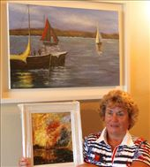 Mary and her art, Galway: by vagabondstoo, Views[229]