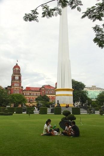 Yangon park