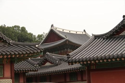 Interesting rooflines, Changdeokgung Palace