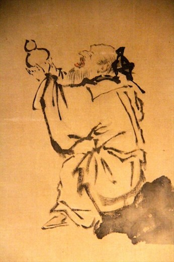 Chinese painting better than we saw in China
