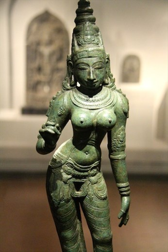 Indian sculpture better than we saw in India