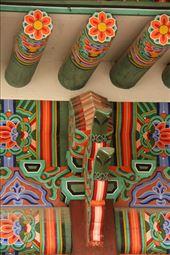 Bright colours, Changdeokgung Palace: by vagabondstoo, Views[572]