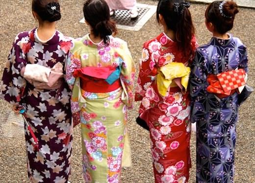 Kimonos, Kiyomizu-dera, Kyoto