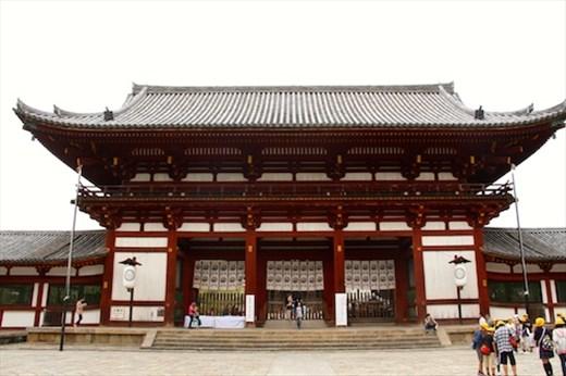 Gates to Todaiji Temple, Nara