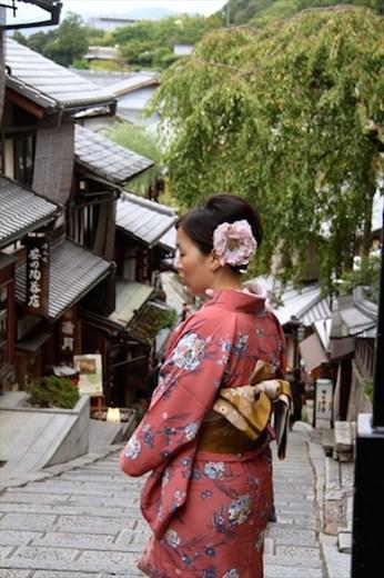 Near Kiyomizu-dera, Kyoto