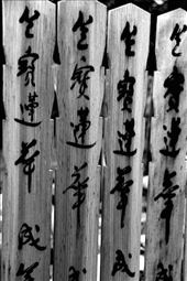 Cemetery calligraphy, Kyoto: by vagabondstoo, Views[214]