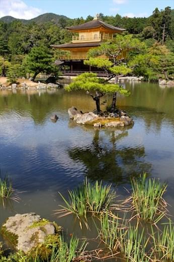 Reflections, Golden Pavilion, Kinkaku-Ji, Kyoto