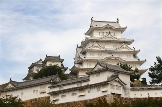 Himeji Castle, The White Heron
