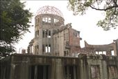 Atomic Bomb Dome, only standing remains, Hiroshima: by vagabondstoo, Views[121]