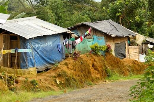 It's a hard life near Mount Kitanglad, Mindanao