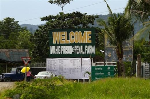 Looking for jail birds, Iwahig Prison,  Puerto Princesa