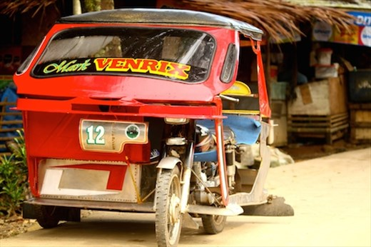 Main mode of transport on Palawan