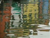 Impressionist reflection, Burano: by vagabondstoo, Views[378]