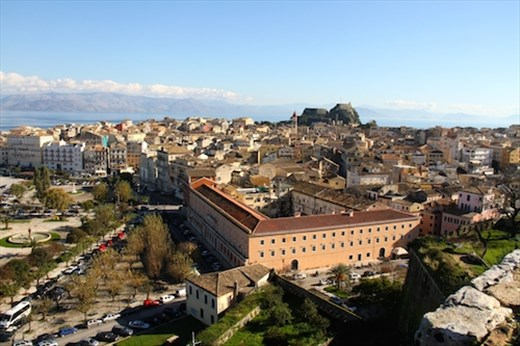 Corfu from the Old Fort