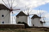 Windmills, Mykonos: by vagabondstoo, Views[257]