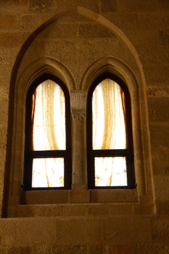 Alabaster windows, Palace of the Grand Masters, Rhodes