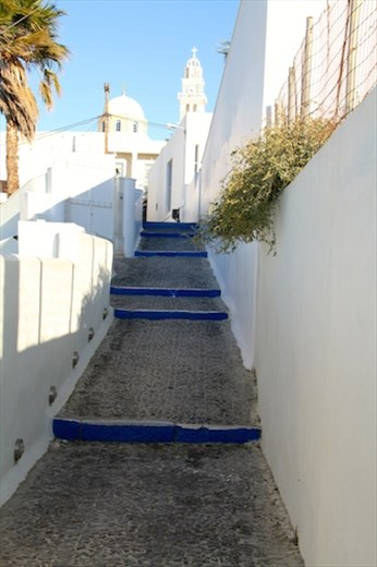 Dreaming of a White Christmas, Santorini