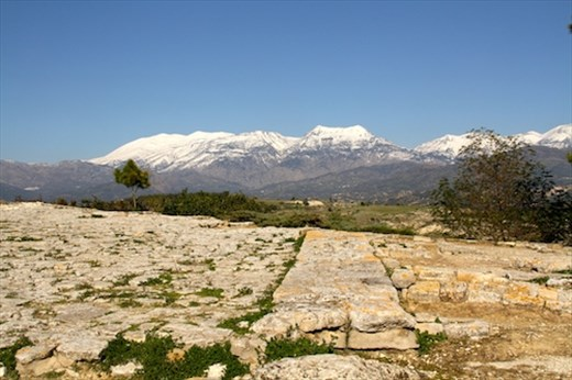 Phaestos panorama