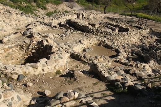 Ruins of the Neolithic village of Choirokoitia