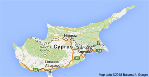 Cyprus, divided it stands