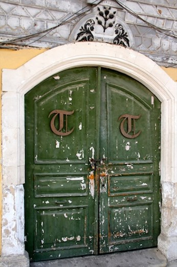 Green door, Larnaka