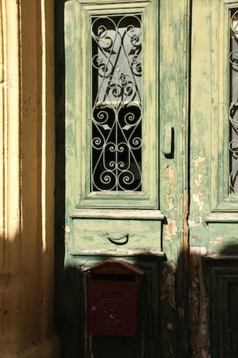 Green door,  Nicosia