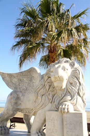 Venetian lion, Larnaka