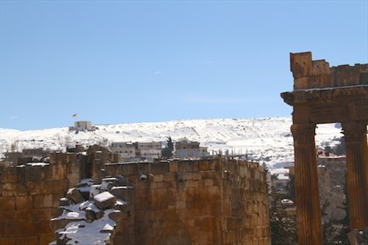Syrian outpost, Baalbek Roman WHS