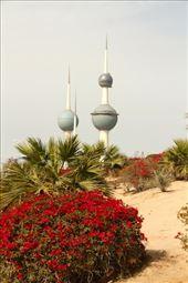Kuwait Towers: by vagabondstoo, Views[170]