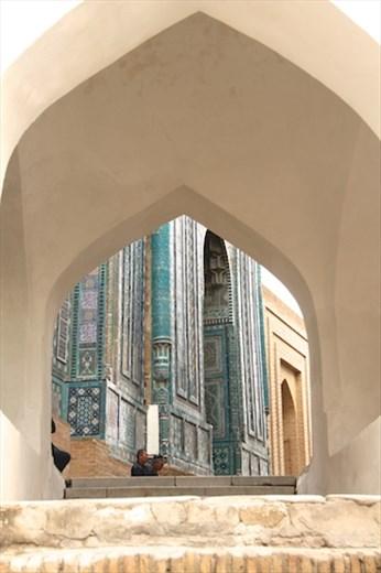 Shaka Zinda Necropolis, Samarkand
