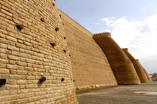Ark, the fortress, Bukhara