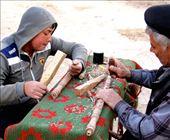 Woodcarvers, Khiva: by vagabondstoo, Views[85]