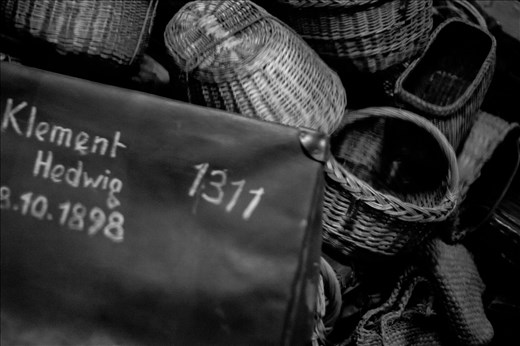 To Be the Last Trip. Inside the museum you can find the silent witnesses of stolen innocent lives.  At Auschwitz-Birkenau (Oświęcim, Poland)