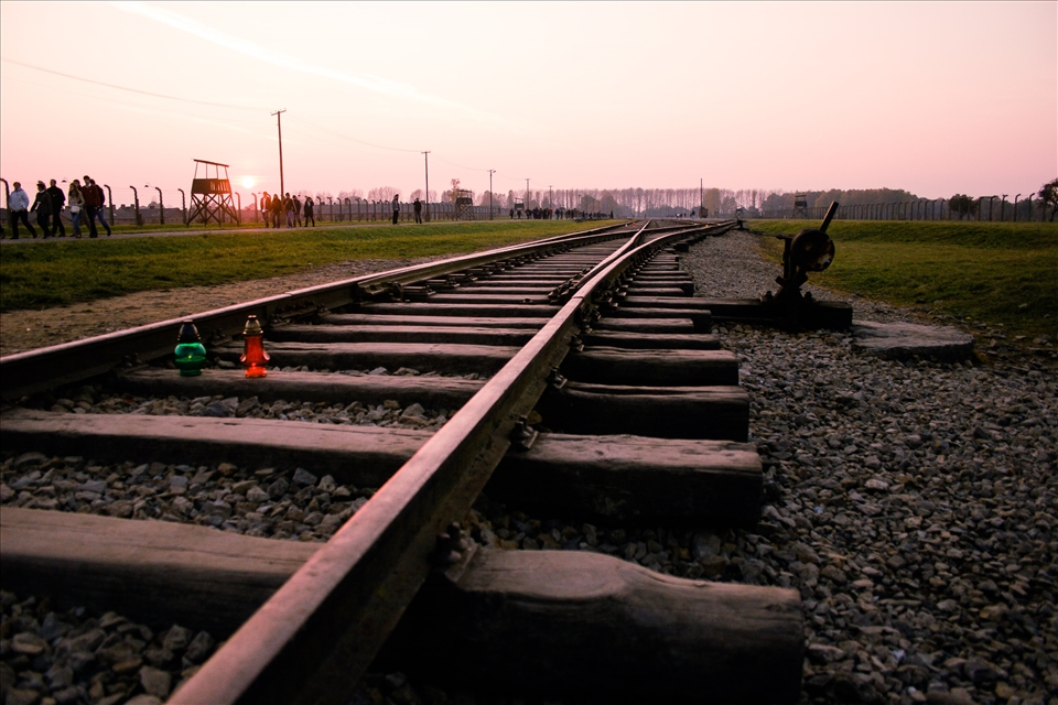 Memory Rails. It is not my story to tell. It is in the history books I've studied, it is something that deeply influenced me during school years, when I made a presentation on concentration camps for World History class. Every object on this land of ashes is a silent witness of what happened here about 70 years ago. At Auschwitz-Birkenau (Oświęcim, Poland)