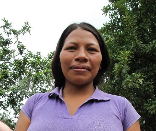 Woman living near the Shiripuno River in the Amazon