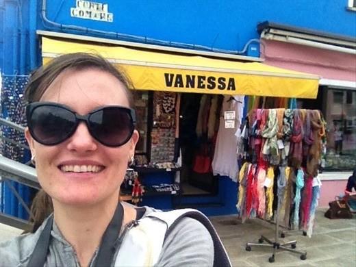 Me in Burano