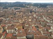 View of Florence from atop the Duomo: by vangonza13, Views[517]