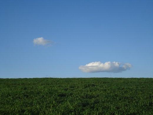 A cloud,
