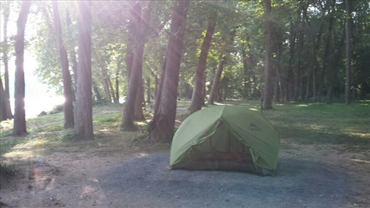 Camping on Hiker-Biker site near DC