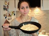 Me and my not yet baked creation.: by veranika_bond777, Views[49]