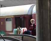 In the station you meet people with different stories-Woman waiting for somebody: by victoria_zlateva, Views[185]