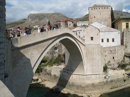 Mostars new old bridge