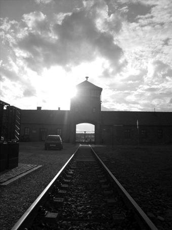 Birkenaus chilling entrance