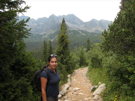 Smelling the fresh air in the Tatras