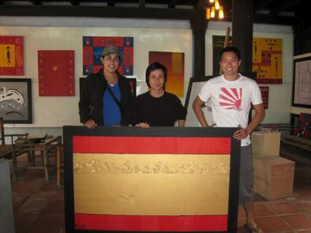 We bought this painting from a local artist in Hoi An