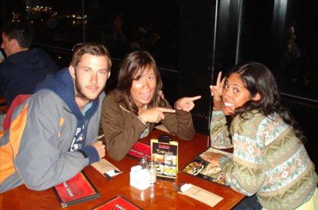 Monica's birthday dinner at Tony Roma's