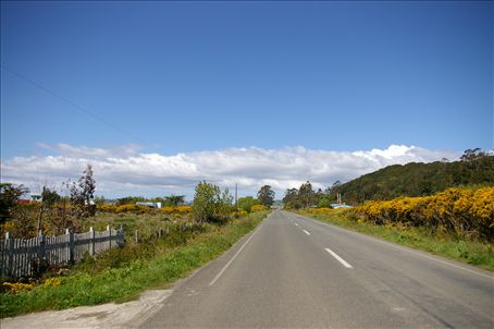 The one sunny day on Chiloé... Beautiful, no?